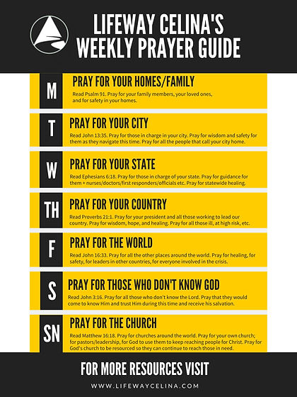 lifeway celina prayer guide