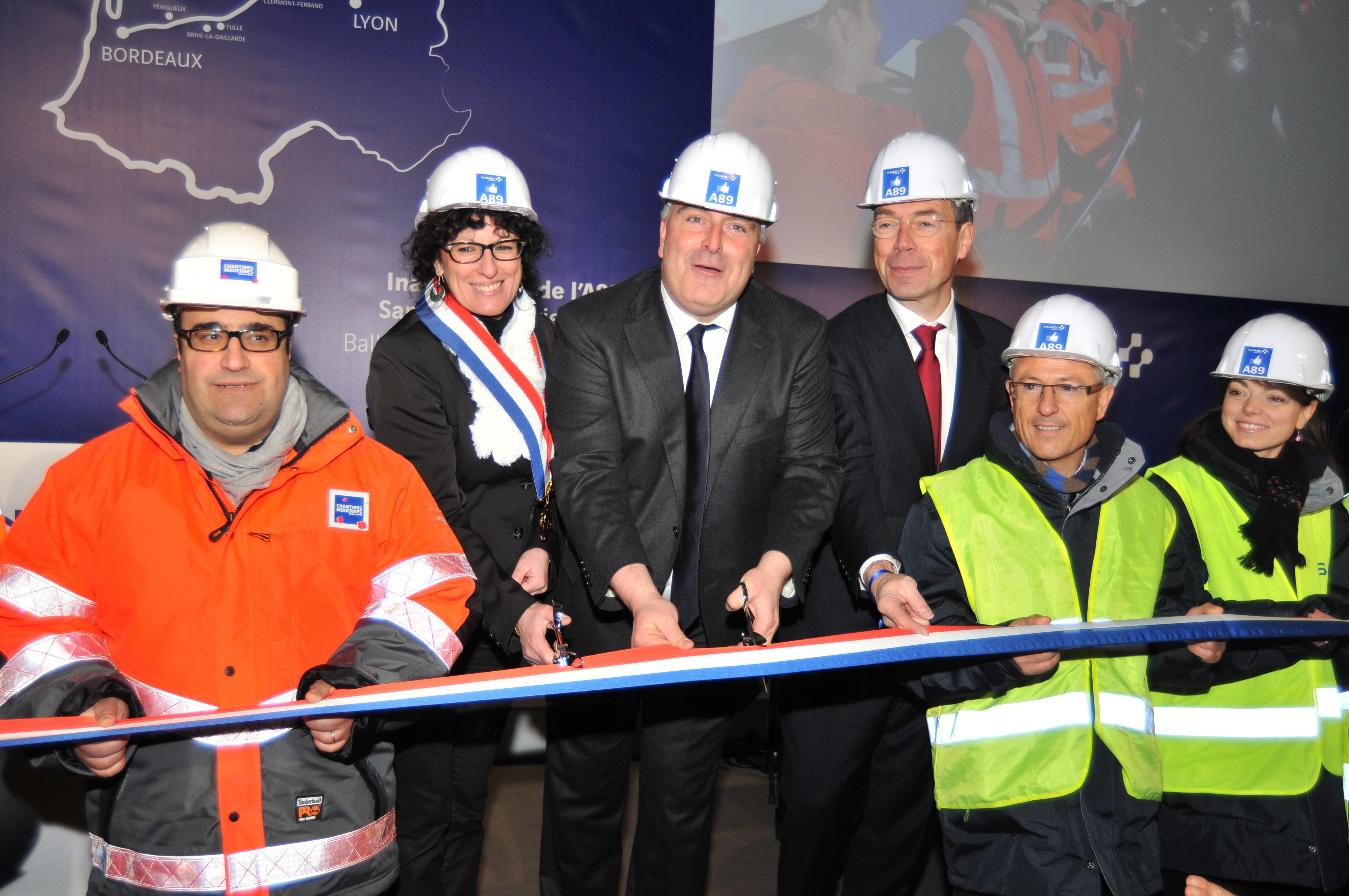Inauguration de l'A89 49