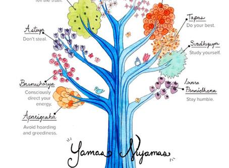 The Yamas and the Niyamas – an introduction by Gillian Taylor