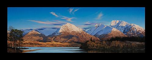 Ben Nevis across Loch Lochy