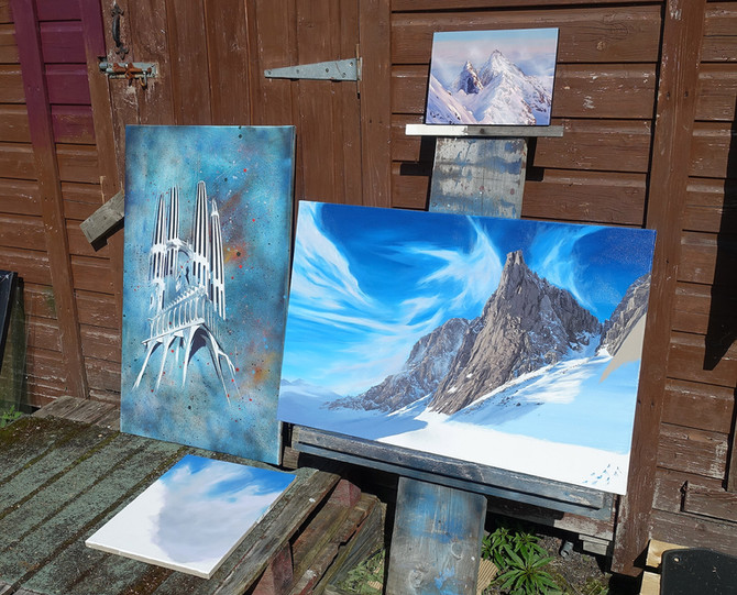 New paintings after a long Winter