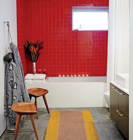 midwest modern ceramic tile colors tomato red