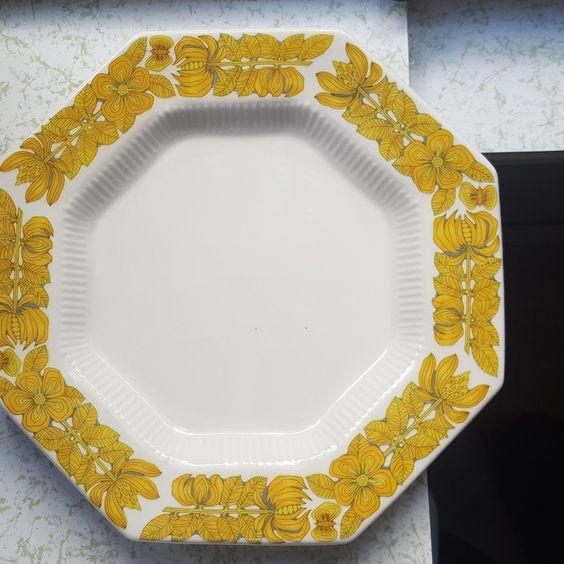 midwest modern vintage plate