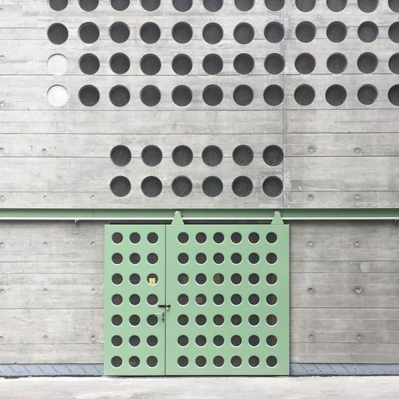 thoughtful architectural details perforated cladding