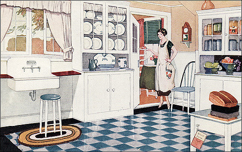 modern interior design dish towels