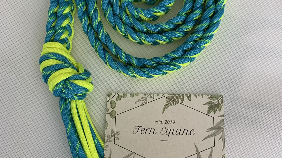 """NEON/REFLECTIVE """"Oh Shoot Strap"""" Horse Neck Rope"""