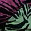Thumbnail: Fluorescent Zebra Print Leggings