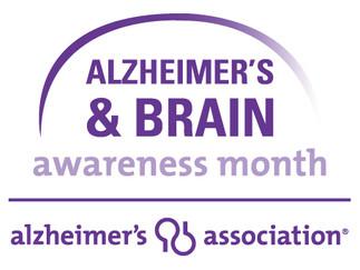 Think Purple for National Alzheimer's & Brain Awareness Month