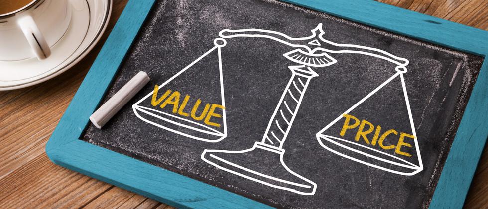 value price concept on balance scale.jpg