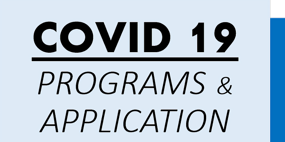 CEO Focus NOW - COVID19 CARES Application Webinar I