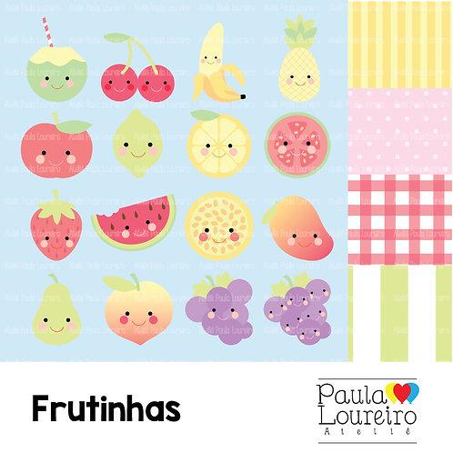 Kit de clipart digital - Frutinhas
