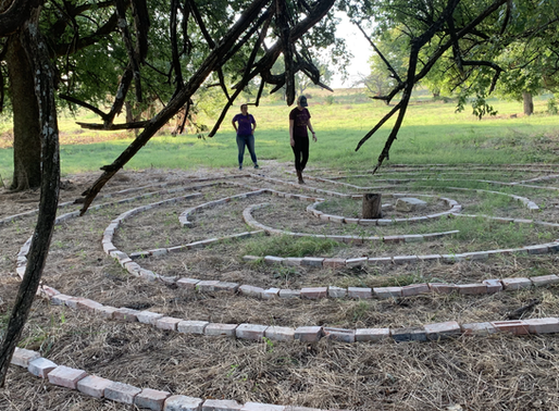 Our Labyrinth and the Summer Solstice