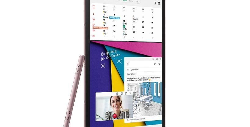 Samsung GALAXY Tab S6 T860N WiFi 128GB rose blush Android 9.0 Tablet