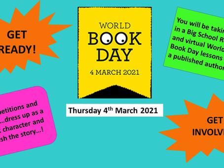 Crestwood School World Book Day