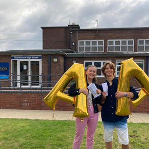 Wonderful results for Invictus Sixth Form Students at Wombourne!