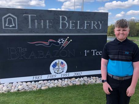 Foooooorree! Ben Pursues Golfing Greatness!
