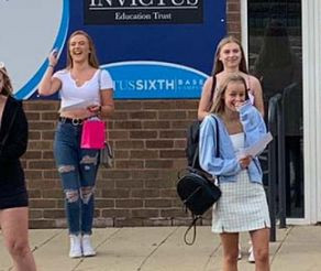 Invictus Sixth Wombourne Campus Students Celebrate Incredible Results!