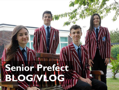 Senior Prefect BLOG/VLOG - Issue One  - How to Cope During Lockdown