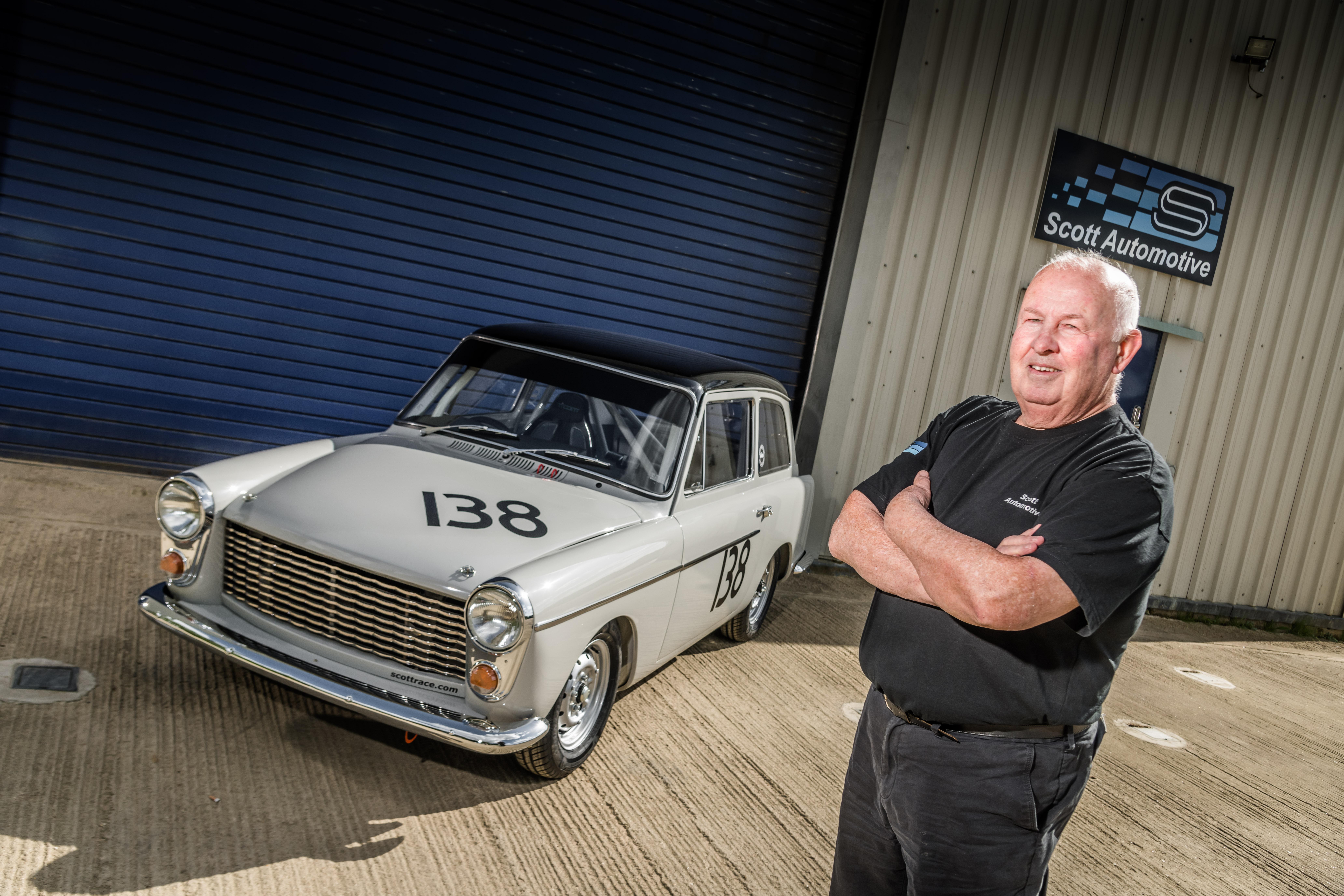 Austin A40 - 1960 BSCC Winner
