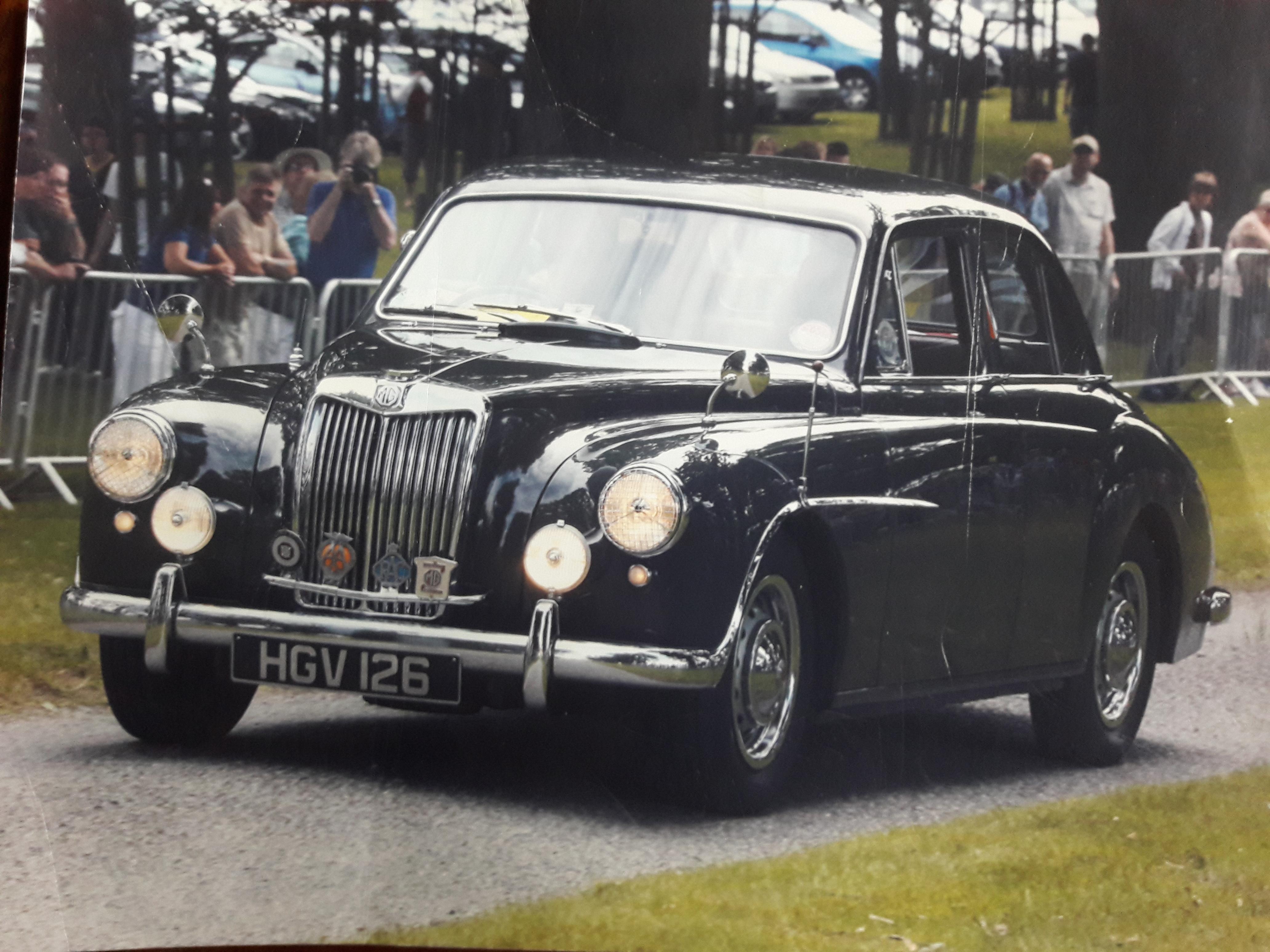 MG ZA Magnette - 1955