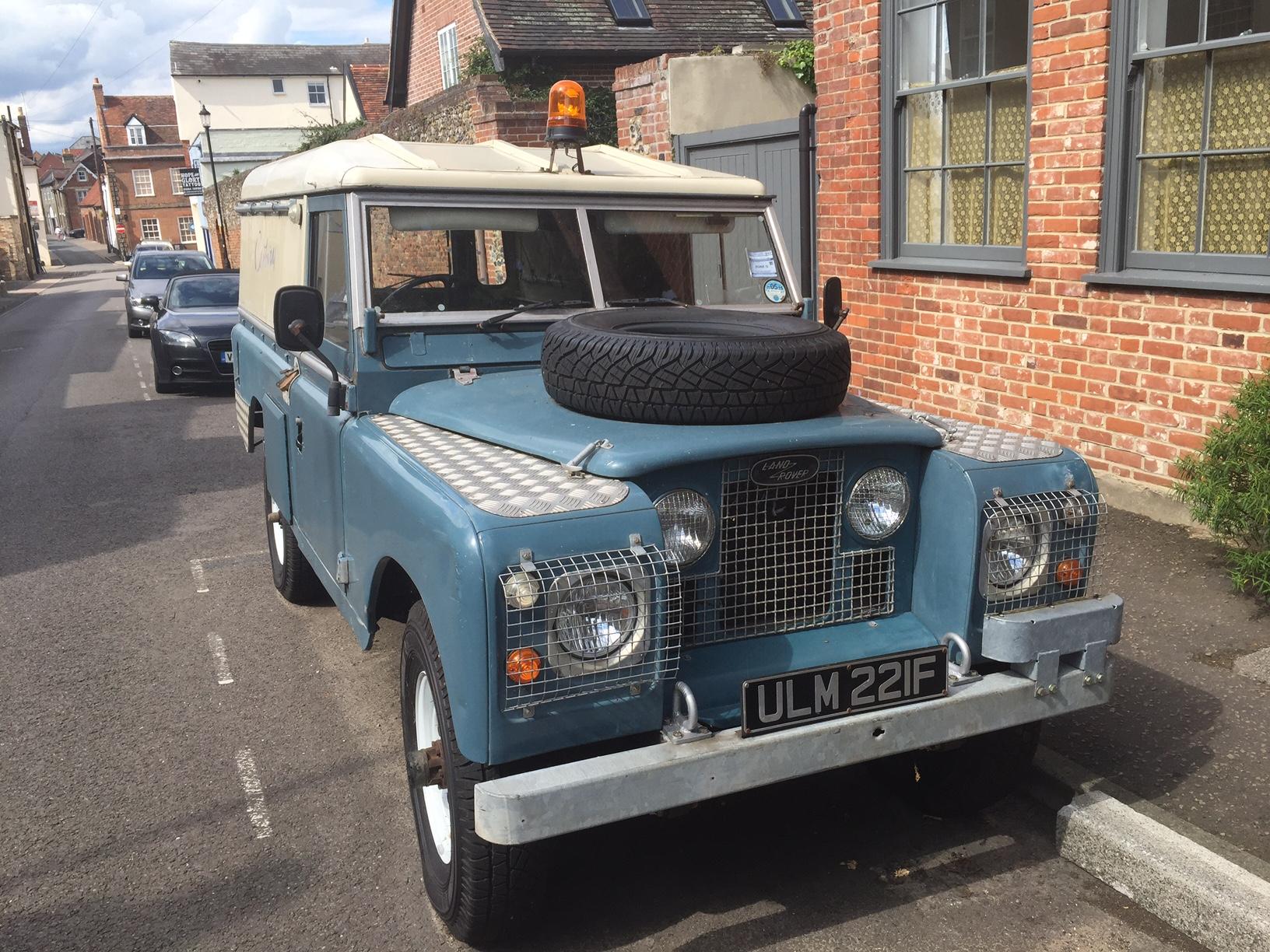 Land Rover 109, 1968