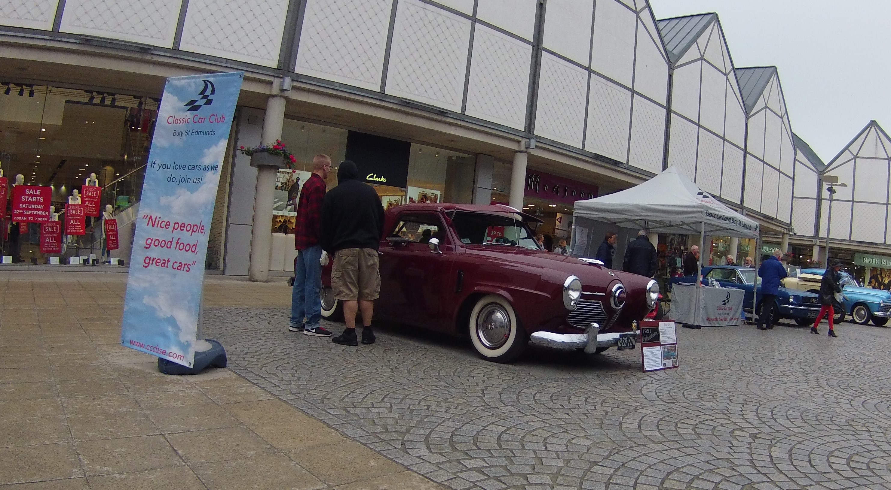 The Classic Car Club of Bury St Edmunds | Trip to GREYHOUND