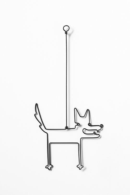 Wire animals- wolf
