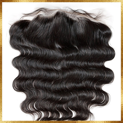 BRAZILIAN BODY WAVE TRANSPARENT LACE FRONTAL 13x4