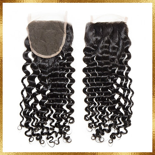 BRAZILIAN DEEP WAVE CLOSURE 5X5
