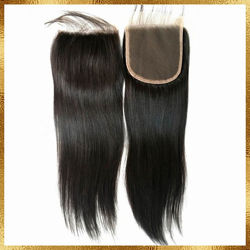 BRAZILIAN STRAIGHT CLOSURE 5X5