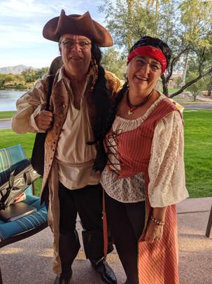 Greg and Vicki
