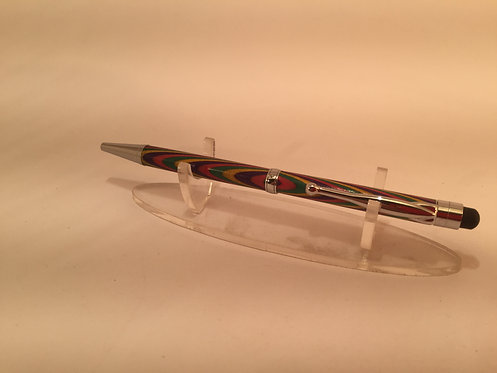 Segmented Stylus Fancy Slimline with Chrome Trim