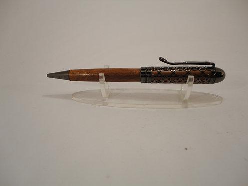 European Filigree Pen with Gun Metal Trim