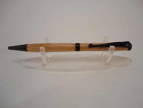 Fancy Slimline Pen with Black Chrome Trim