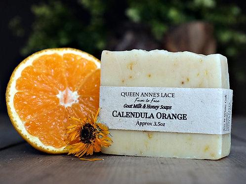 Wild Orange and Calendula Goat Milk & Honey Soap