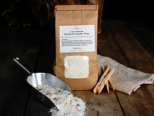 Scented Goat Milk Laundry Soap