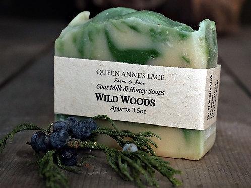 Wild Woods Goat Milk & Honey Soap