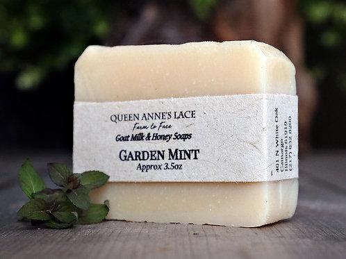 Garden Mint Goat Milk & Honey Soap