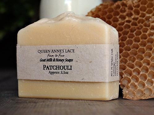 Patchouli Goat Milk & Honey Soap