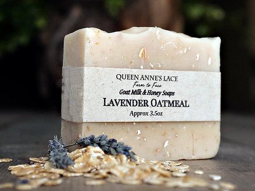 Lavender Oatmeal Goat Milk & Honey Soap