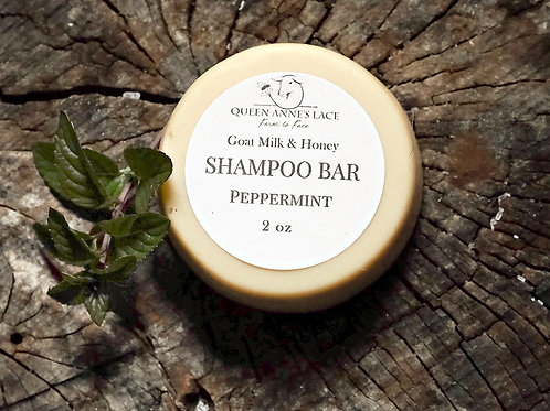 Peppermint Goat Milk Shampoo Bar