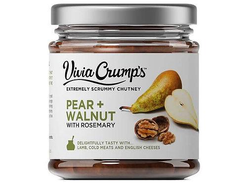 Pear&Walnut Chutney
