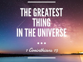 The Greatest Thing In The Universe