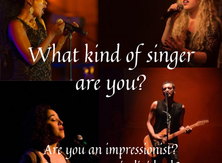 What kind of singer are you?