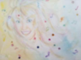 """Patricia""mixed media art rendering"