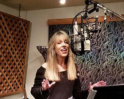 Patricia Shanks in studio