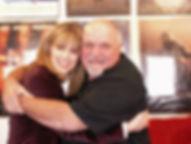 Patricia Shanks with actor, acting teacher, mentor Steve Eastin