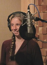 Shanks Student in Recording Session