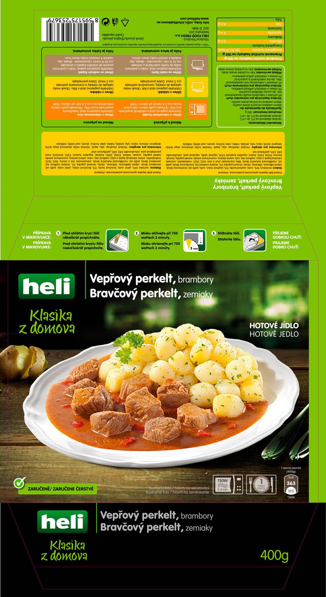 Obalový design, foodstyling