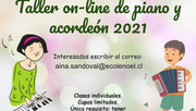 Taller on-line de piano y acordeón